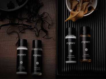 Hotel Toiletries India, Espace by Five Elements®, Kimirica Hunter International