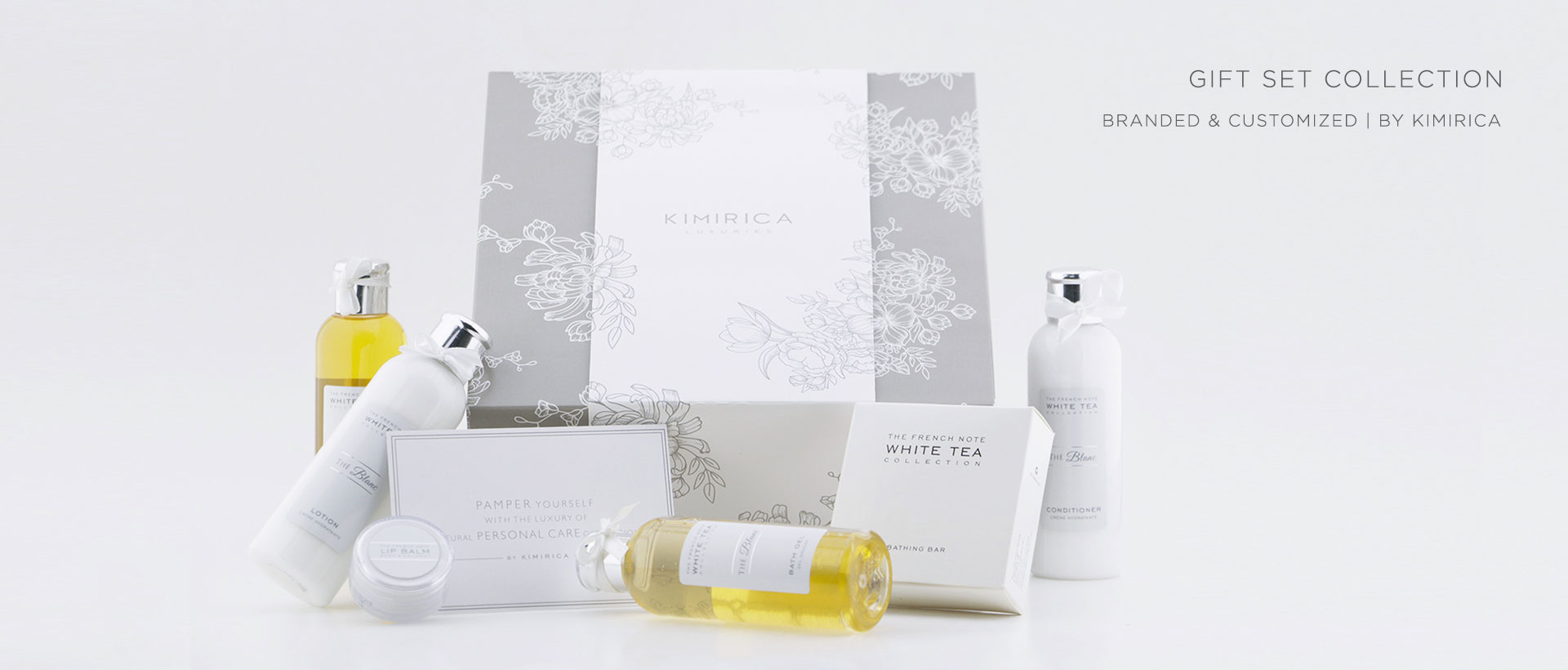 Hotel Toiletries India, Customised Gift set Collection for Hotels, Kimirica Hunter International.