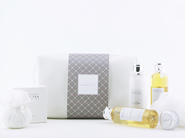 Luxury Hotel Toiletries India, Customised Gift set Collection for Hotels, Kimirica Hunter International.